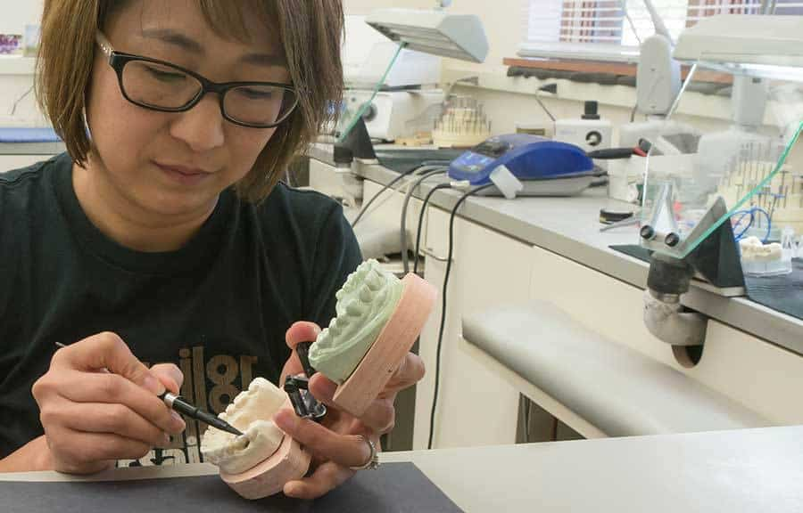 Creation-Dental-Yuko-working